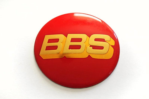 ADESIVO CALOTINHA BBS Vermelho 58mm