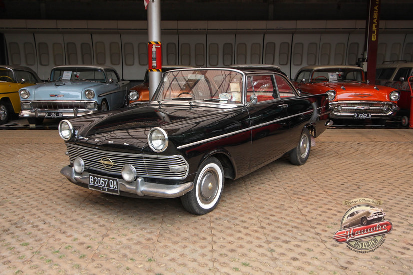 1962 Opel Rekord Coupe