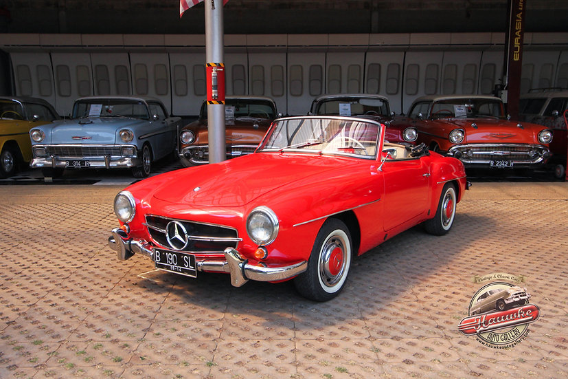 1958 Mercedes 190SL Roadster