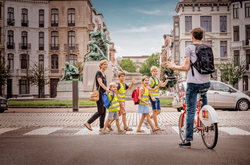 back to school campaign Antwerp