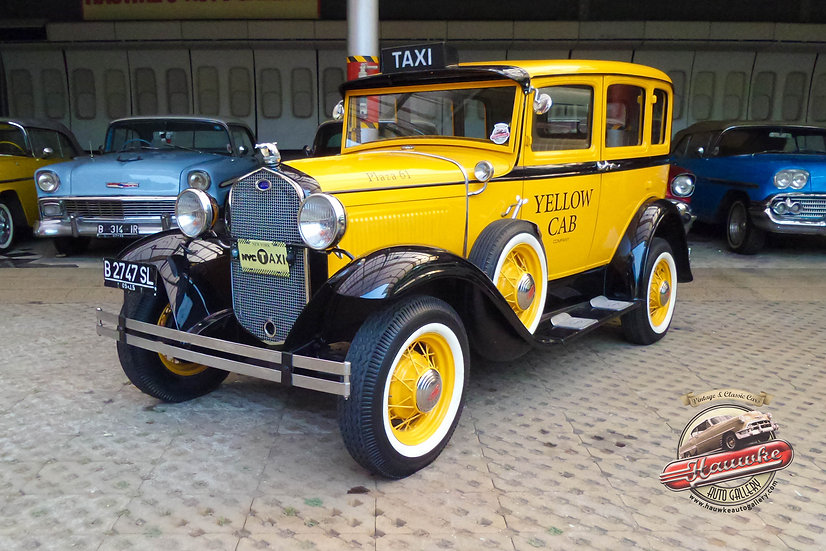 1931 Ford Model A NYC Taxi