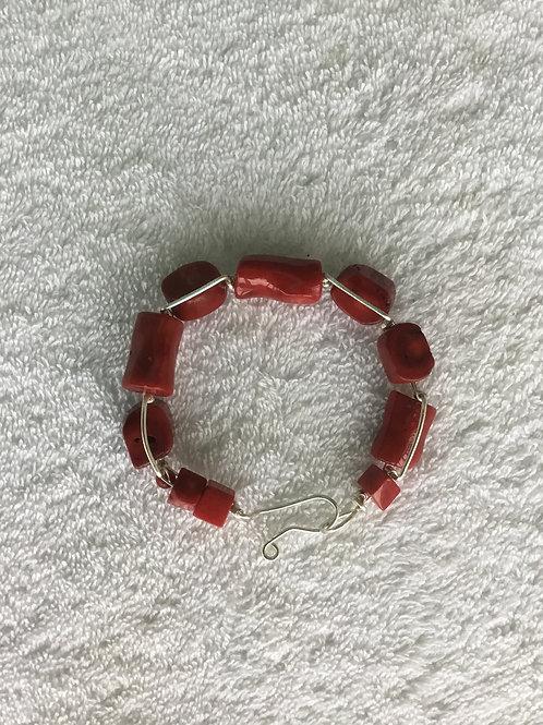 Mediterranean Red Coral Bracelet