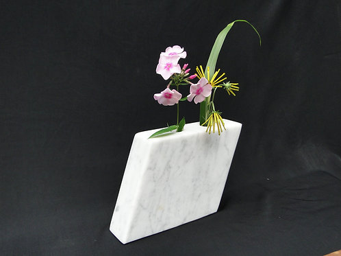 White Marble Parallelogram