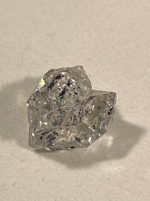 Herkimer Diamond Triple w/Anthraxolite