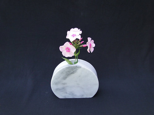 White and Gray Vermont Marble