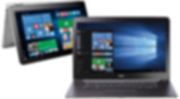 laptop computer and tablet