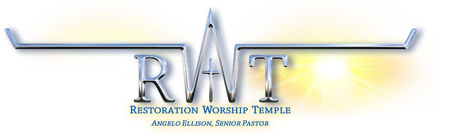 restoation worship temple logo
