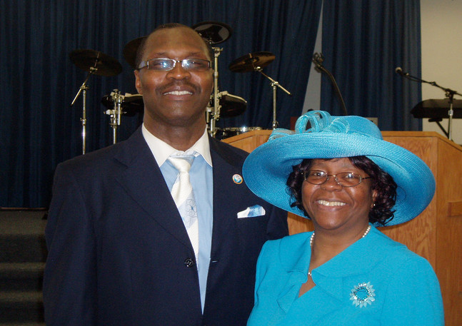Pastor Angelo Ellison and First Lady Janice Ellison