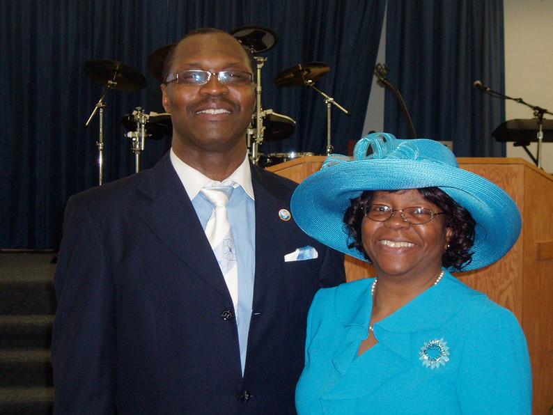 Pastor Angelo Ellison and First Lady Janice Ellison