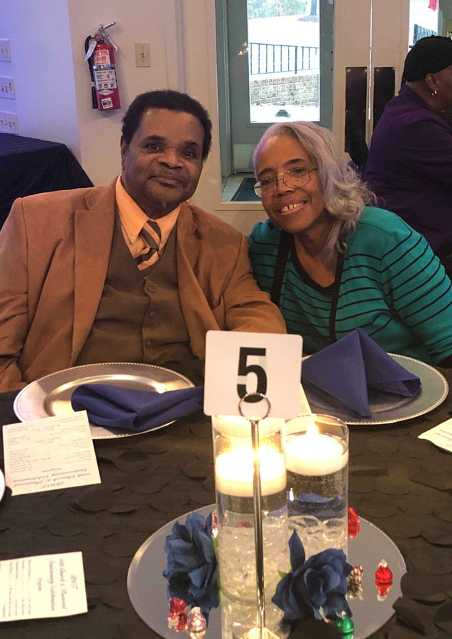 2018 Church Anniversary-Rev. G. Sylvester and Mrs. Margaret Gaines