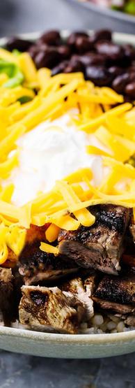 Steak Burrito/Bowl