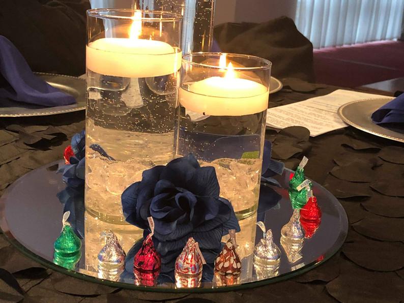 2018 Church Anniversary Table Decoration