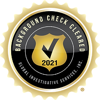 Background Check Cleared Seal