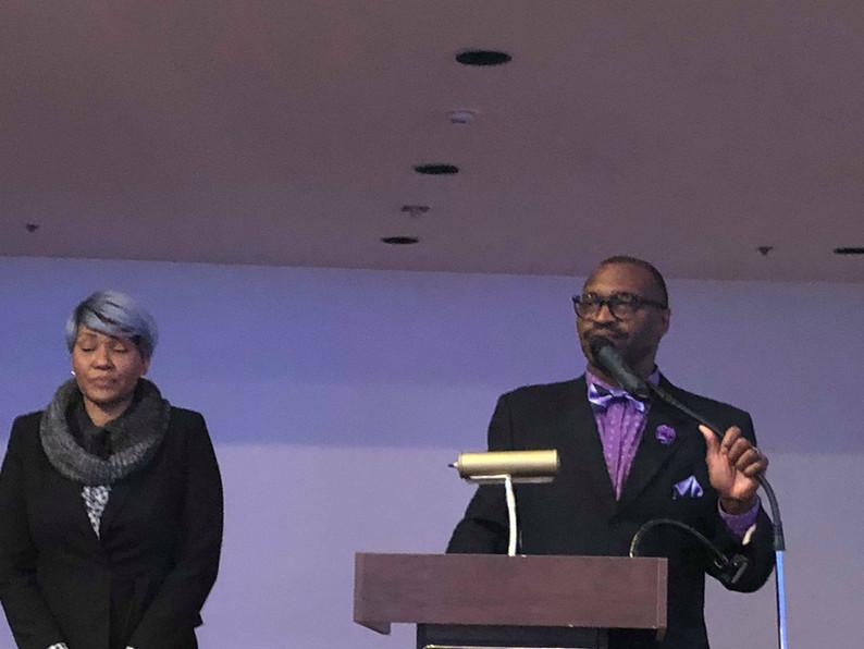 2018 Church Anniversary-Pastor Ellison speaking