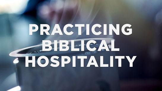 practicing biblical hospitality