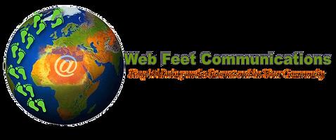 Web Feet Commuications Logo