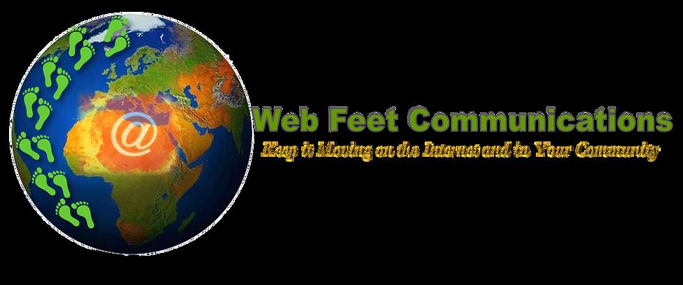 Web Feet Communications Logo