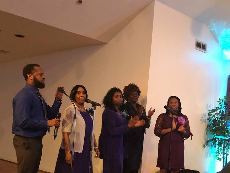 2018 Church Anniversary-RWT Praise Singers