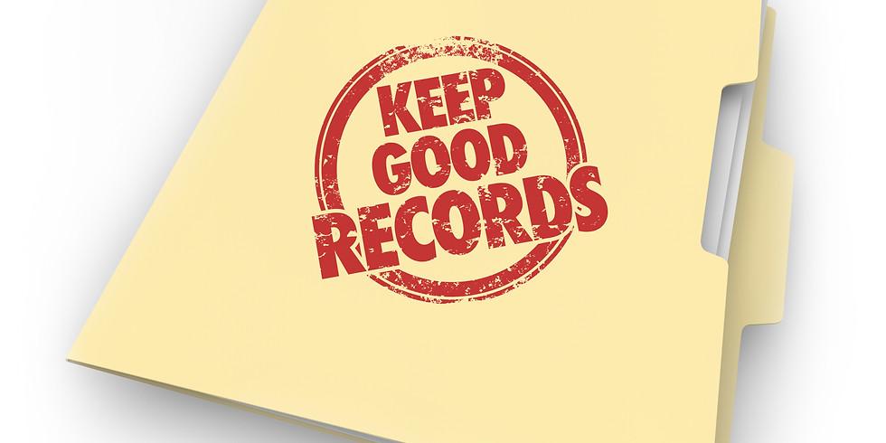 Recordkeeping Training