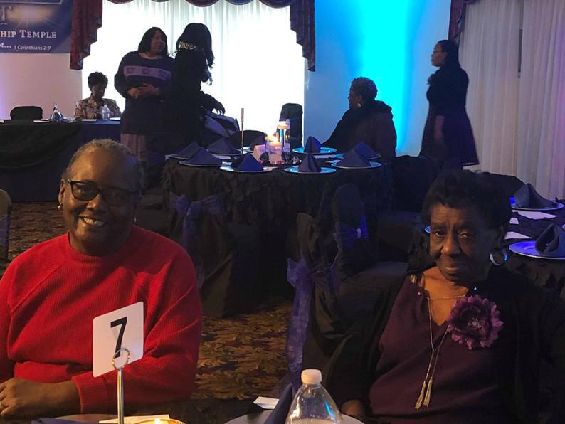 2018 Church Anniversary-Sis. Faye and Sis. Cunningham