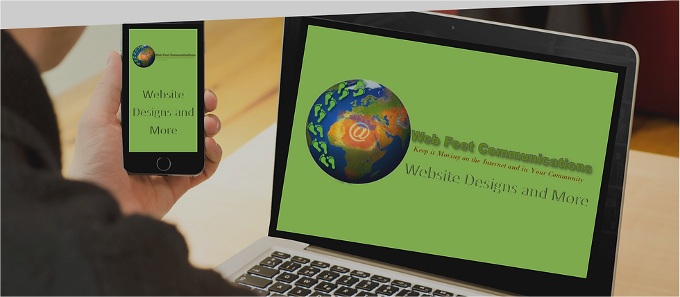 Web Feet Communications Website Designs and More