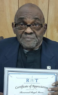 Rev. Boyd Moses
