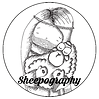 sheepography logo of the shepherd and his sheep