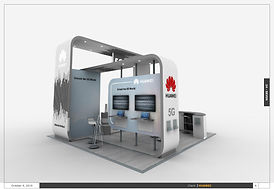Huawei Exhibition Stand