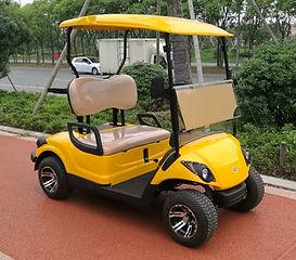 4 seater raised golf cart