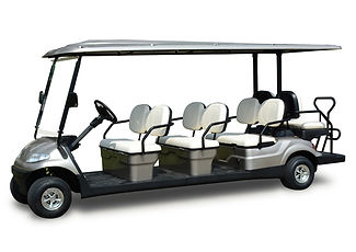 8 Seater hospitality golf cart