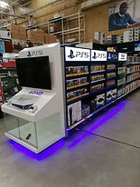 Playstation End Cap