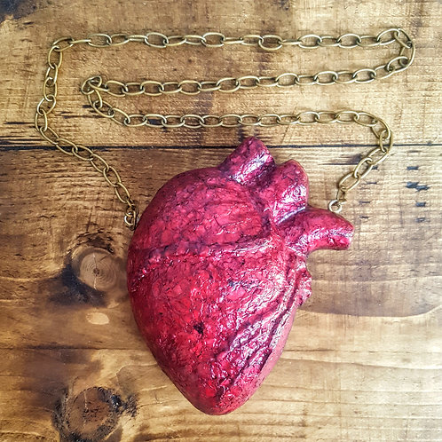 Anatomical Heart Medallion