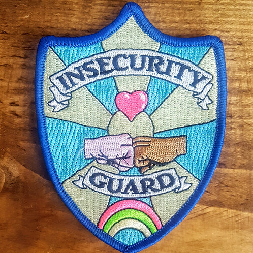 Insecurity Guards Embroidered Patch