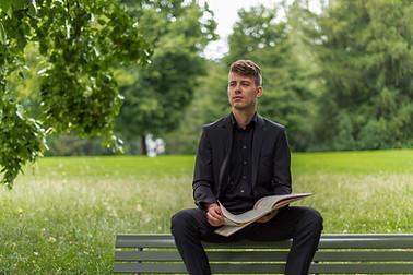 Maximilian Vogler Tenor ©Natalie Fasnacht