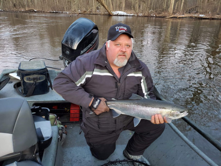 Michigan Spring Steelhead Fishing Report
