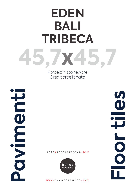 45x45 / Eden / Bali /Tribeca