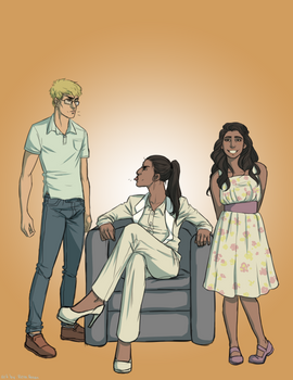 Book cover commission