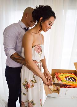 Wedding - Cutting the Cake