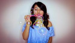 Portrait - Blowing Bubbles