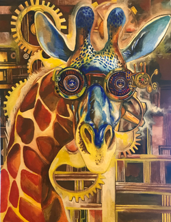 Steampunk Giraffe