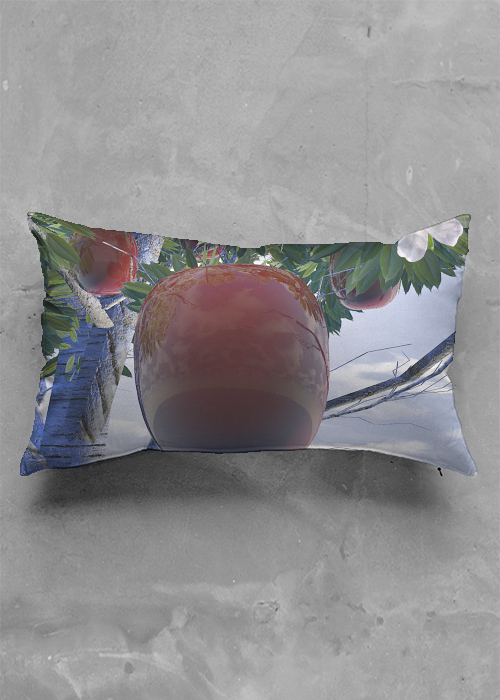 Heavy Apple Pillow