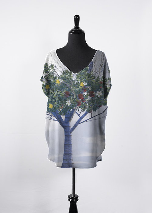 Apple Blossom Tree Top