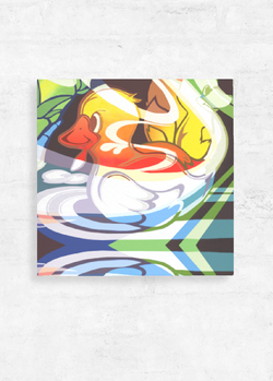 Ugly Duckling Canvas Wall Art