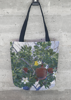 Heavy Apple Tote Bag