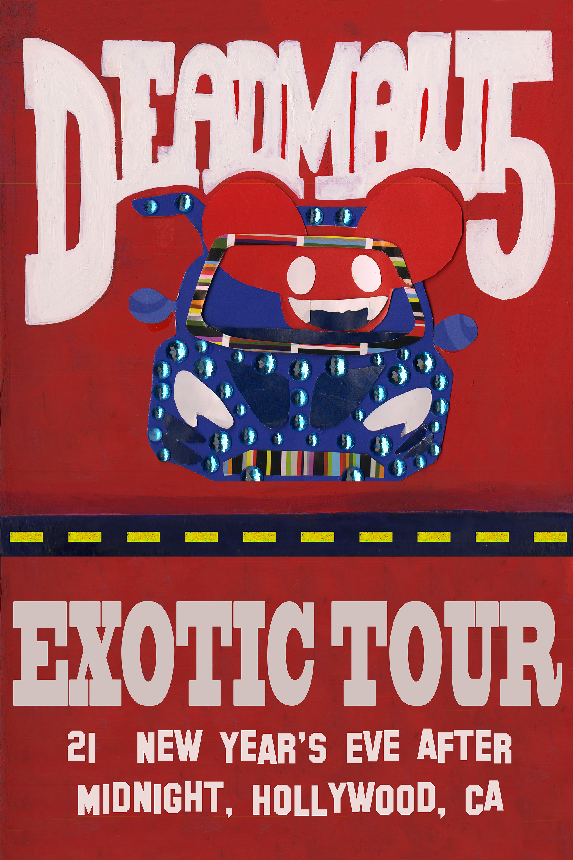 DeadMau5 Exotic Tour Poster