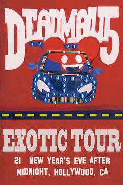 DeadMau5 Exotic Tour Poster