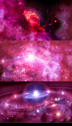 Disintegration: Birth of a Star