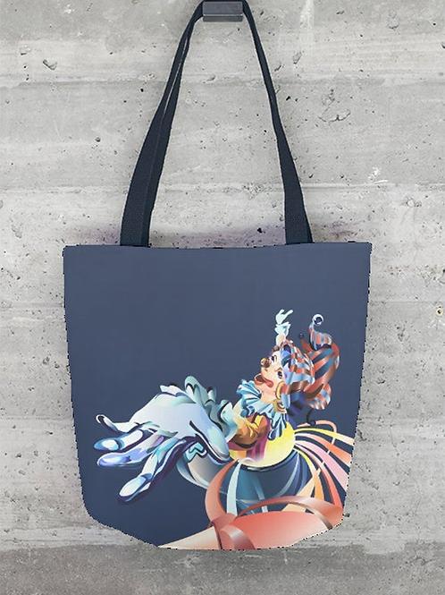 Surprise Clown Tote Bag