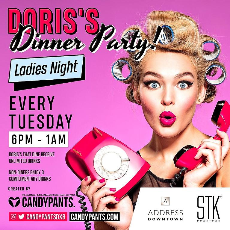 DORIS'S DINNER PARTY
