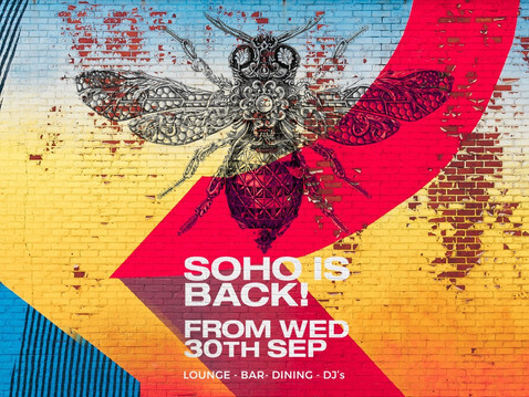 After a long summer, the Soho Garden destination is delighted to announce it's reopening .
